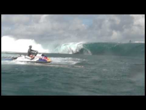 Keala Kennelly at Teahupoo - 2014 Ride of the Year Entry - Billabong XXL Big Wave Awards