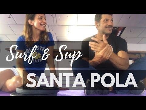 Escuela de Surf & SUP en Alicante: Parres WaterSports, Santa Pola (2018)