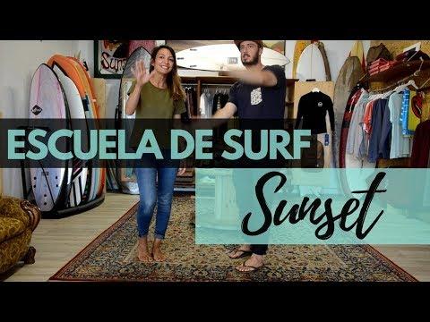 APRENDER SURF en CANTABRIA: Escuela de SURF SUNSET [2018]