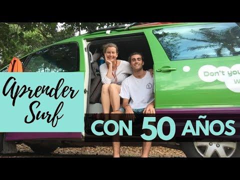 ✅ Aprender a SURFEAR con 50 AÑOS | Isabelle Beaudry