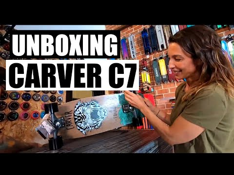 ✅ Unboxing CARVER Courtney Conlogue SEA TIGER C7 😍 Surfskate