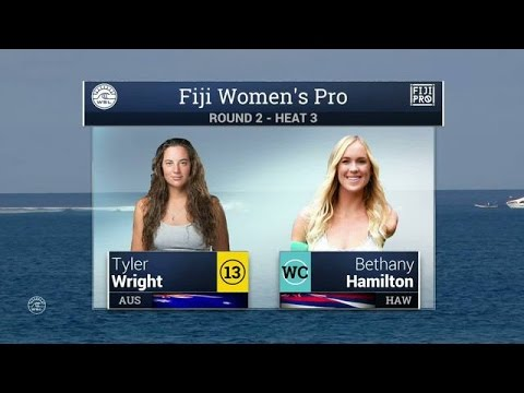 2016 Fiji Women's Pro: Round Two, Heat 3 Video