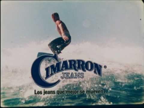 cimarrón jeans anunció televisión 1978