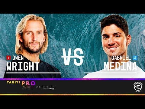 Owen Wright's Epic Victory vs. Gabriel Medina at Tahiti Pro