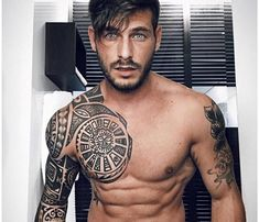 Tatuaje inspiración polinesia