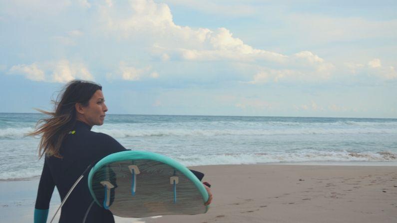 Viento onshore y offshore en el surf