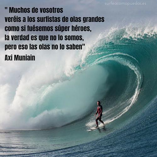 Axi Muniain frases de surf