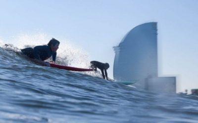 Surfear en Barcelona