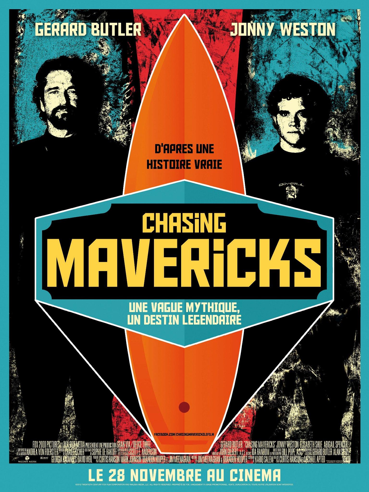 Chasing mavericks - películas de surf - surfeacomopuedas
