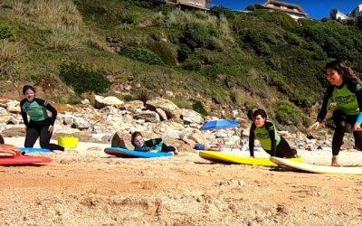 ¿Qué es el PERIODO en Surf? ¿Cómo se forman las olas? Practicando el Take Off
