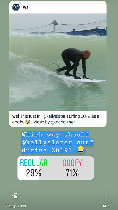 Kelly Slater as googfy