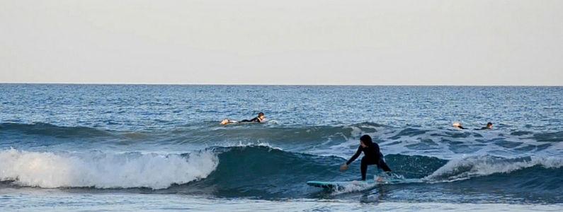Derecha en Playa San Juan, Alicante