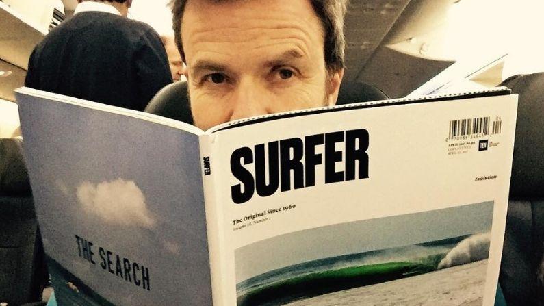 Pau Donés el surfista
