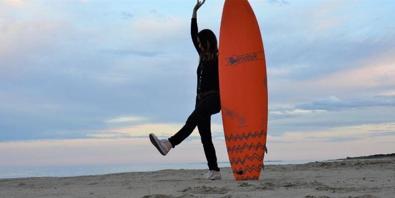 Qué es el QUIVER en el SURF
