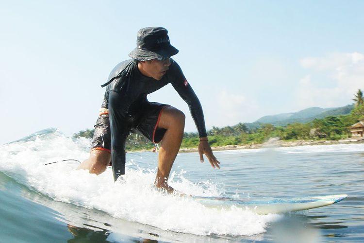 Qué significa take off en surf