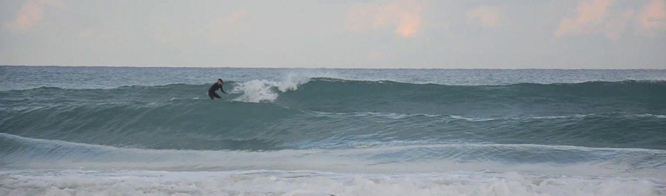 Viento y el mundo del surf